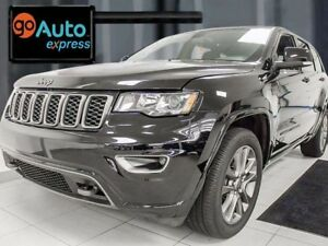 2017 Jeep Grand Cherokee Limited, NAV, sunroof, park assist and