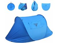 Frostfire Large 2 Person Instant Popup Tent with Carry Bag
