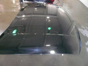 1999-2007 GMC SIERRA HOOD - AFTERMARKET ; PAINTED BLACK