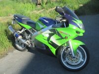 kawasaki zx6r consider swop px custom bike or boat or camper
