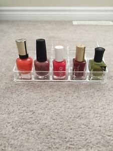 NAIL POLISH STAND - 12 compartments