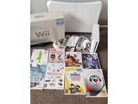 Wii , wii fit board and games ect
