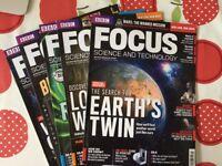 Focus magazines Oct 12 - Aug 16