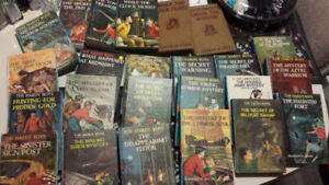 Hardy Boys Nancy Drew Large Lot of Books