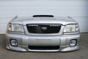 JDM SUBARU FORESTER SF5 FRONT END NOSECUT (STB) 2000-2002