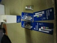 Boots brand electric toothbrush spare heads x 9 Unused * Brand New*