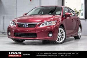 2013 Lexus CT 200h TOURING; CUIR TOIT MAGS HYBRID - 4.6L / 100KM