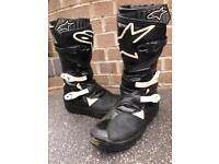 Alpinestar Trial Boots No Stop