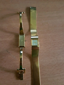 Two authentic designer watches