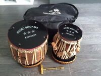 Virtually unused professional tabla set for sale. Original RRP £300.