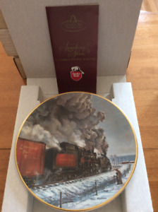 Canadian Pacific collector's plate