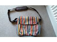 Skip hop nappy changing bag with change mat