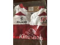 Kids ulster rugby shirt and body warmer -BRAND NEW!