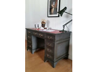 Shabby Chic Writing Desk in Annie Sloan,Free Delivery Within 50 miles !