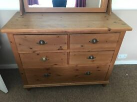 Marks and Spencer's Dresser with mirror