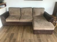 Lincoln Corner Sofa Bed In Excellent Condition