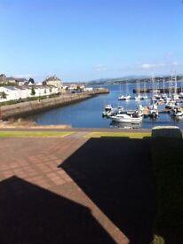 Lovely, modern, furnished 2 bedroom flat for rent in Tayport overlooking the harbour.