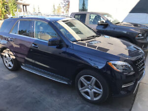 2013 MERCEDES BENZ  ML 350 BLUE TEC AMG AWD
