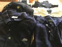 6 large boy or small adult Polo tops