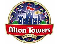Alton Towers Tickets Can be used any date!!!