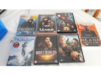 Variety of different DVDs