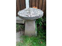 Stone Mushroom / Toadstool, Staddle Stone Garden Ornament