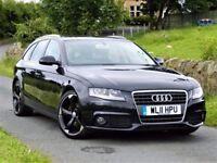 2011 AUDI A4 2.0 SE ESTATE TDI E 135BHP - FSH -S LINE BLACK EDITION 19 ALLOYS