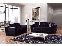 CRUSH VELVET RANGE NOW IN 3+2 sofa brand new last few sofa set