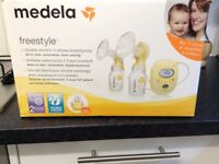 Double electric 2-phase breastpump