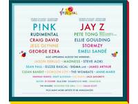 1 x V Festival VIP weekend camping tickets - Weston Park, Staffordshire.