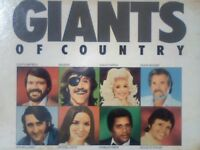 VARIOUS ARTISTS - GIANTS OF COUNTRY NEW* READERS DIGEST ‎– CBIG-A-139 / 1985 WITH 114 MUSIC TRACKS.