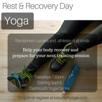 Recovery Yoga for runners, cyclists and athletes