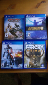 Ps4 games to trade Montague