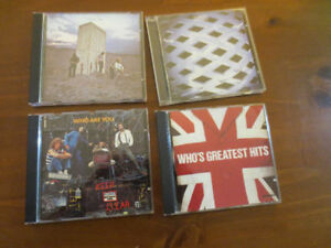 -- 4 CD's The Who Collection --