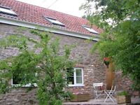 Wraxall - 1 bed flat in converted barn with views - 15 minute drive from Bristol City Centre