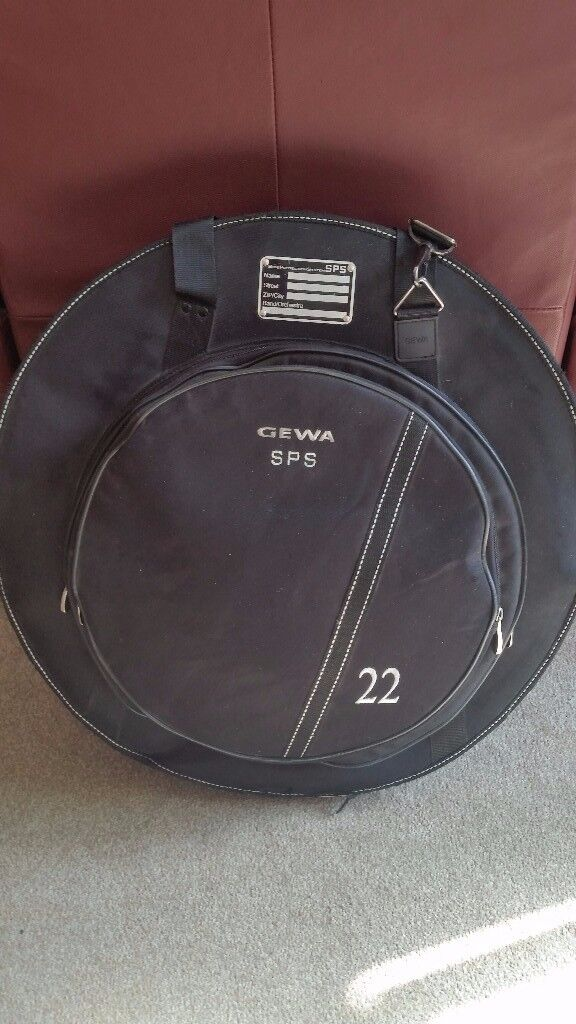 GEWA SPS CYMBAL BAG - FUR LINED WITH DIVIDERS