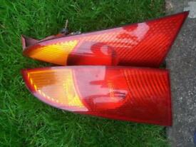 Pair.of.ford focus.rear lights