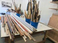 Picture frame moulding lengths