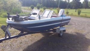 Great camp boat tri hull