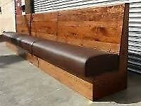 Restaurant or pub fitted Seating
