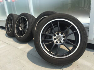 """16"""" MSR Alloy Wheels with All Season Tires - fits most 4 bolt ca"""