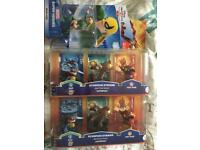 Sky landers and Disney Infinity characters