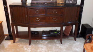 ***~Marble Top Hutch~***
