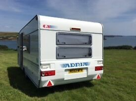 Fantastic family caravan in excellent condition and great design - Adria Altea 502 DK 5/6 Berth