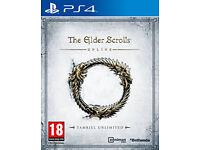 Elder Scrolls Online - PS4 (Need gone)