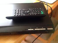 sony dvd/cd player with usb record- model.dvp-sr750h