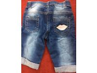 Kids 3/4 jeans