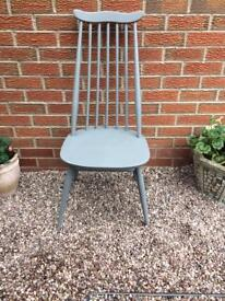 Grey Ercol Chair
