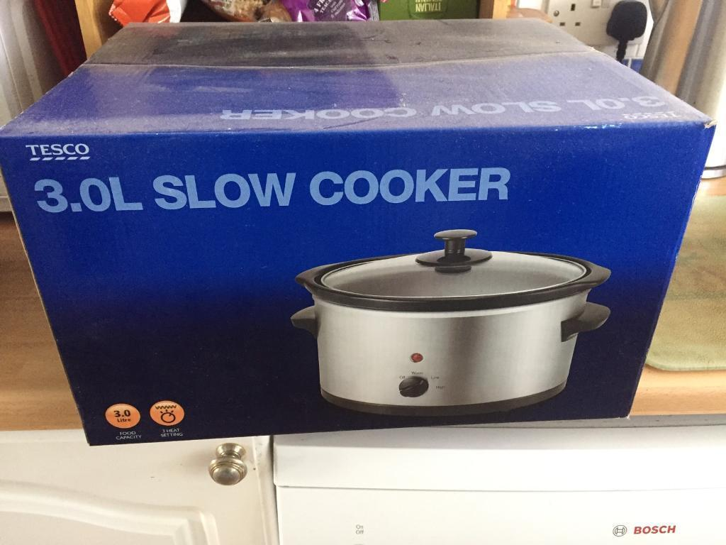 3L slow cooker (new)
