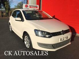 2010 VW POLO 1.2 TDI SE WHITE